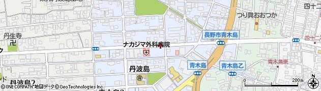 長野県長野市青木島周辺の地図