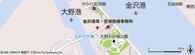 石川県金沢市大野町(4丁目甲)周辺の地図