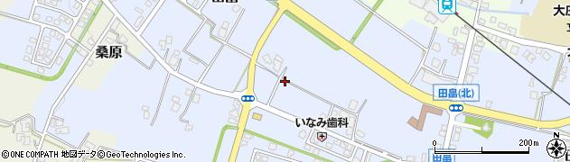 富山県富山市田畠周辺の地図