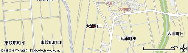 石川県金沢市大浦町(ニ)周辺の地図