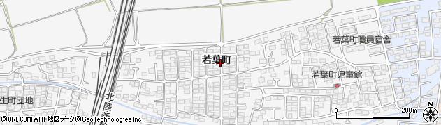 長野県長野市川中島町(若葉町)周辺の地図