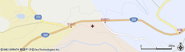 石川県金沢市松根町(カ)周辺の地図