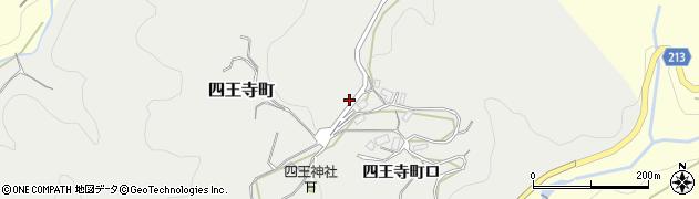 石川県金沢市四王寺町周辺の地図