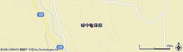 富山県富山市婦中町葎原周辺の地図