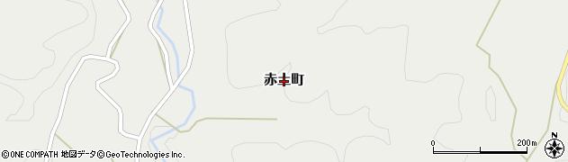 茨城県常陸太田市赤土町周辺の地図