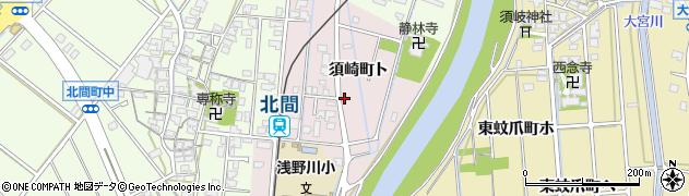 石川県金沢市須崎町(ト)周辺の地図