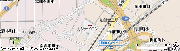 石川県金沢市梅田町(ハ)周辺の地図
