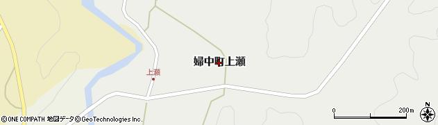 富山県富山市婦中町上瀬周辺の地図