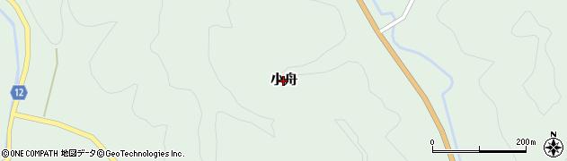 茨城県常陸大宮市小舟周辺の地図