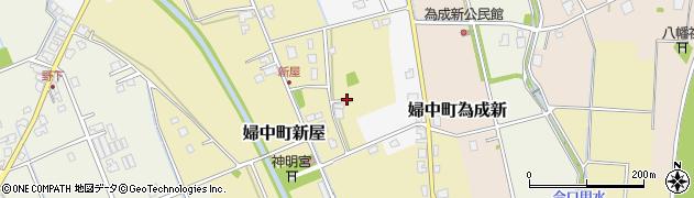 富山県富山市婦中町新屋周辺の地図