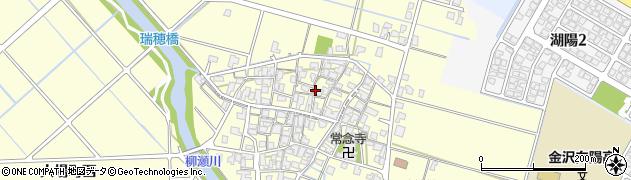 石川県金沢市大場町周辺の地図