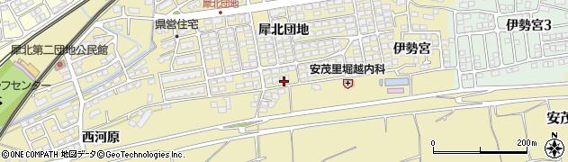 長野県長野市安茂里(犀北団地)周辺の地図