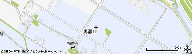 富山県富山市馬瀬口周辺の地図