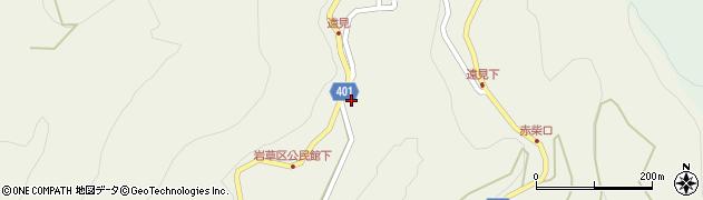 長野県長野市七二会丙周辺の地図