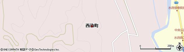 茨城県常陸太田市西染町周辺の地図