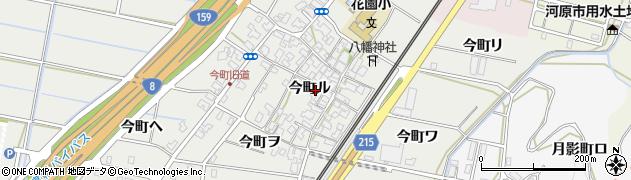 石川県金沢市今町(ル)周辺の地図