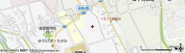 富山県富山市婦中町十五丁周辺の地図