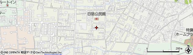長野県長野市稲葉日詰周辺の地図
