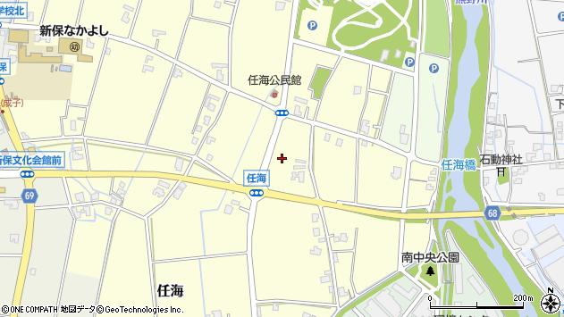 〒939-8233 富山県富山市任海の地図