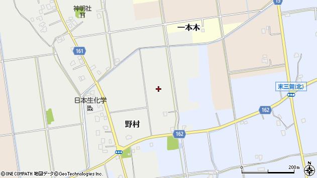 〒930-0248 富山県中新川郡立山町野村の地図