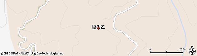 長野県長野市塩生乙周辺の地図