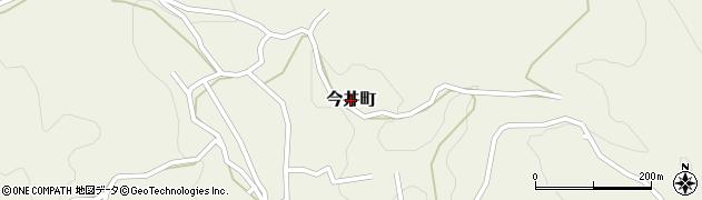 群馬県沼田市今井町周辺の地図