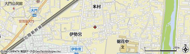 長野県長野市安茂里(差出)周辺の地図