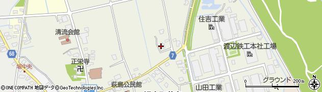 富山県富山市婦中町萩島周辺の地図