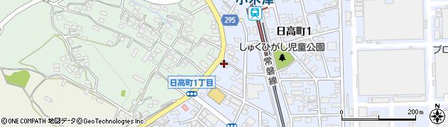 あおい化粧品店周辺の地図