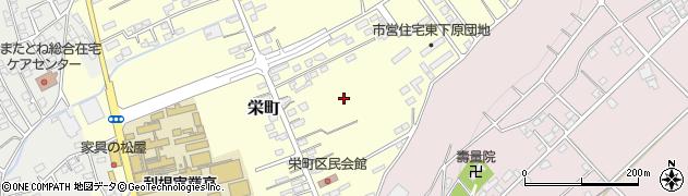群馬県沼田市栄町周辺の地図