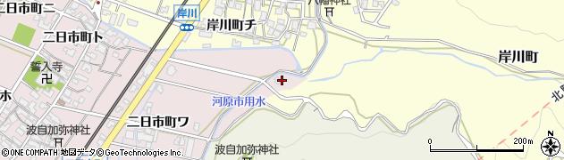 石川県金沢市二日市町(カ)周辺の地図