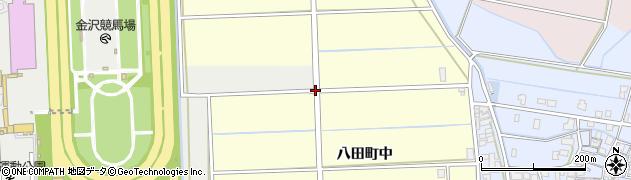 八田西周辺の地図