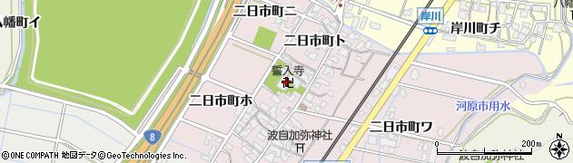誓入寺周辺の地図
