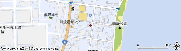 フレンド美容室周辺の地図