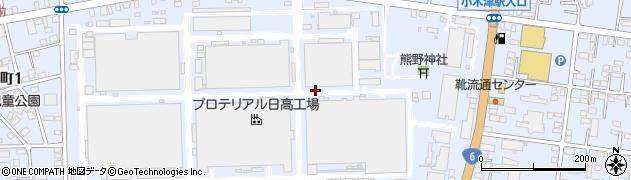 茨城県日立市日高町周辺の地図