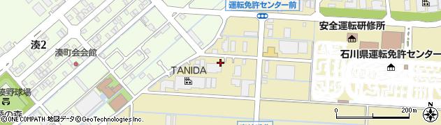 石川県金沢市東蚊爪町(ラ)周辺の地図