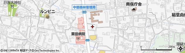 長野県長野市栗田(舎利田)周辺の地図