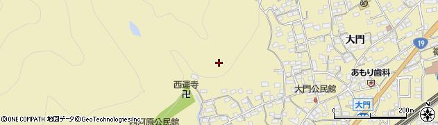 長野県長野市安茂里周辺の地図