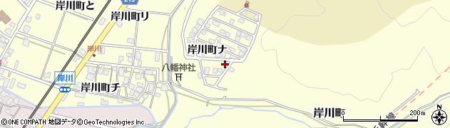 石川県金沢市岸川町(ヲ)周辺の地図