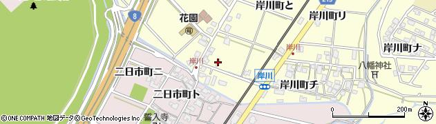 石川県金沢市岸川町(へ)周辺の地図