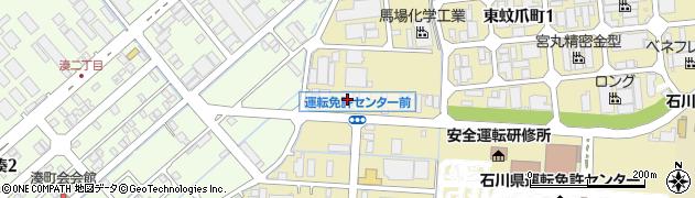 石川県金沢市東蚊爪町(ム)周辺の地図