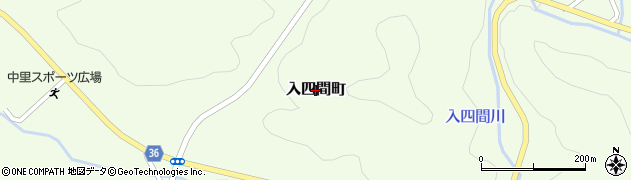 茨城県日立市入四間町周辺の地図