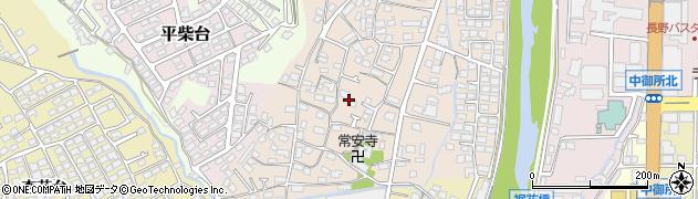 長野県長野市小柴見周辺の地図