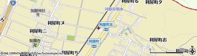 石川県金沢市利屋町(と)周辺の地図
