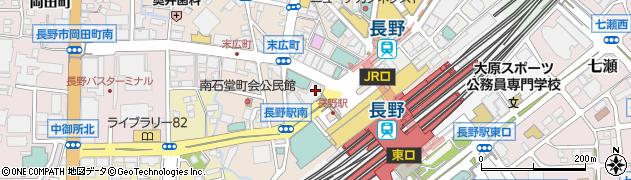 長野県長野市南長野(末広町)周辺の地図