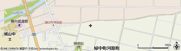 富山県富山市婦中町河原町周辺の地図