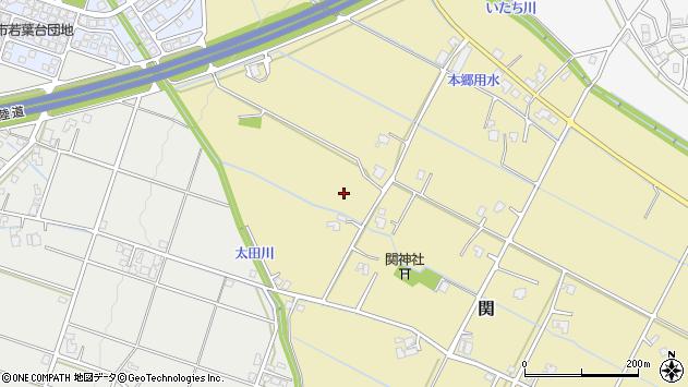 〒939-8123 富山県富山市関の地図