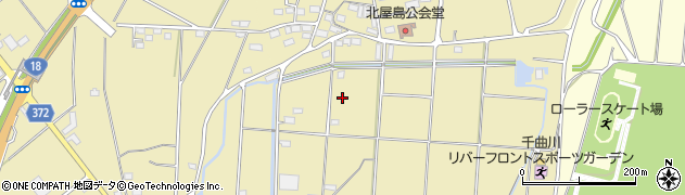 長野県長野市屋島周辺の地図