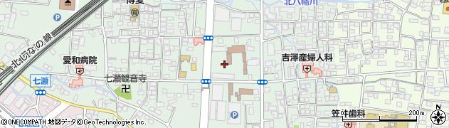 長野県長野市鶴賀(七瀬中町)周辺の地図
