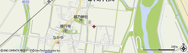 富山県富山市婦中町下吉川周辺の地図